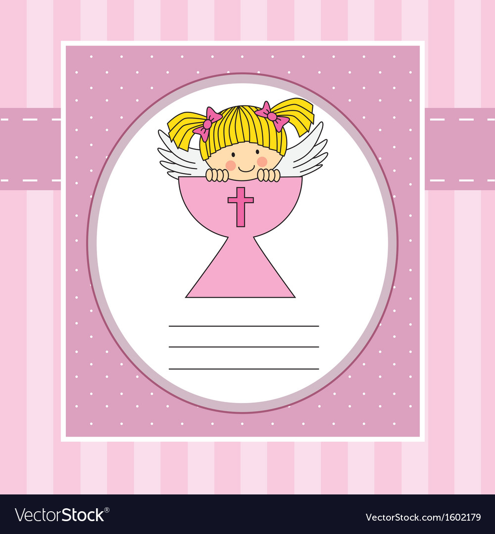 Girl in the holy grail vector | Price: 1 Credit (USD $1)