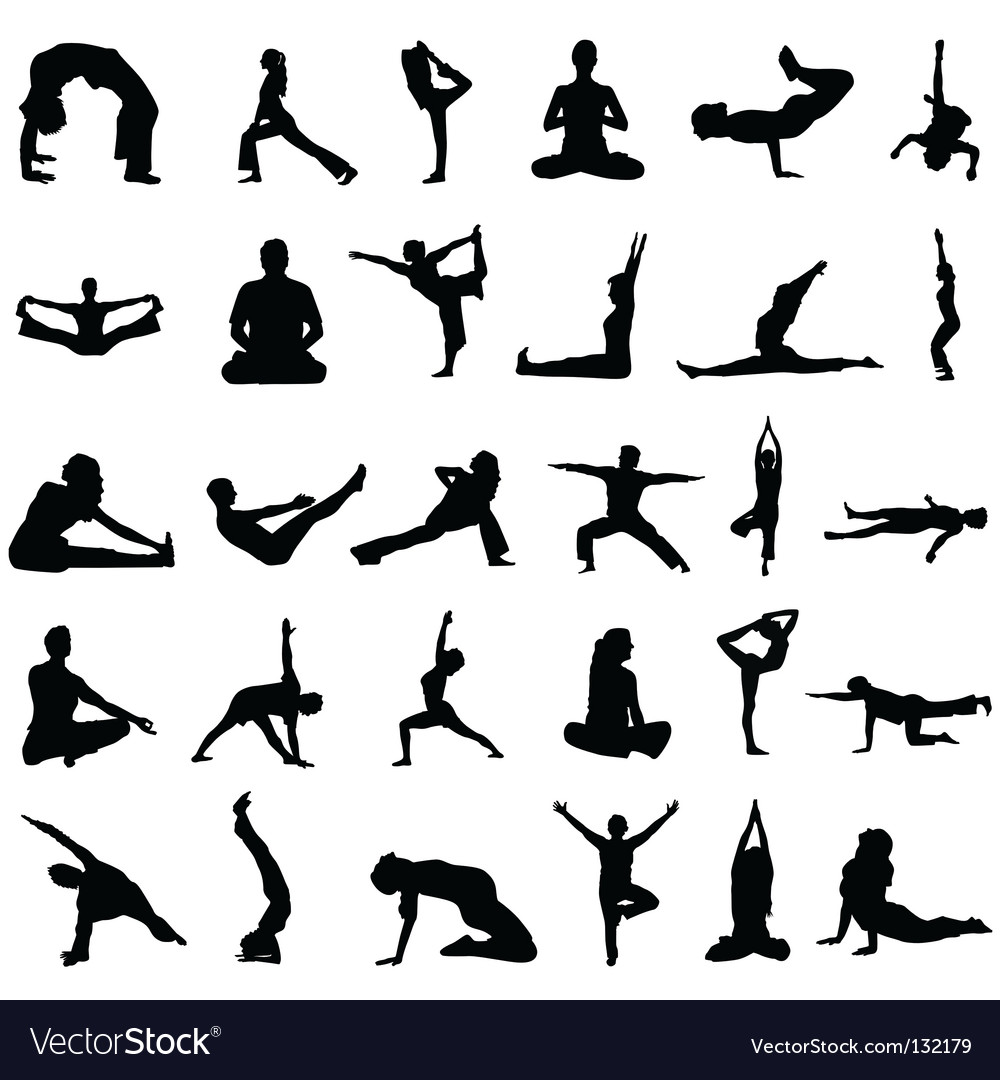 Yoga vector | Price: 1 Credit (USD $1)