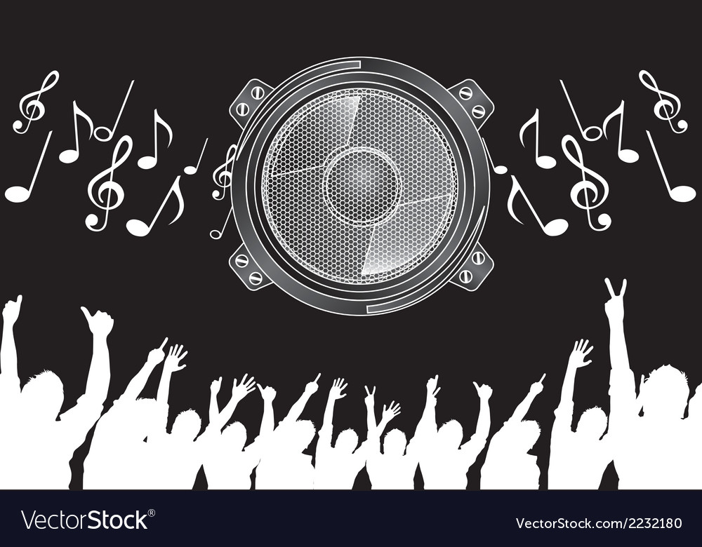 Big speaker vector | Price: 1 Credit (USD $1)