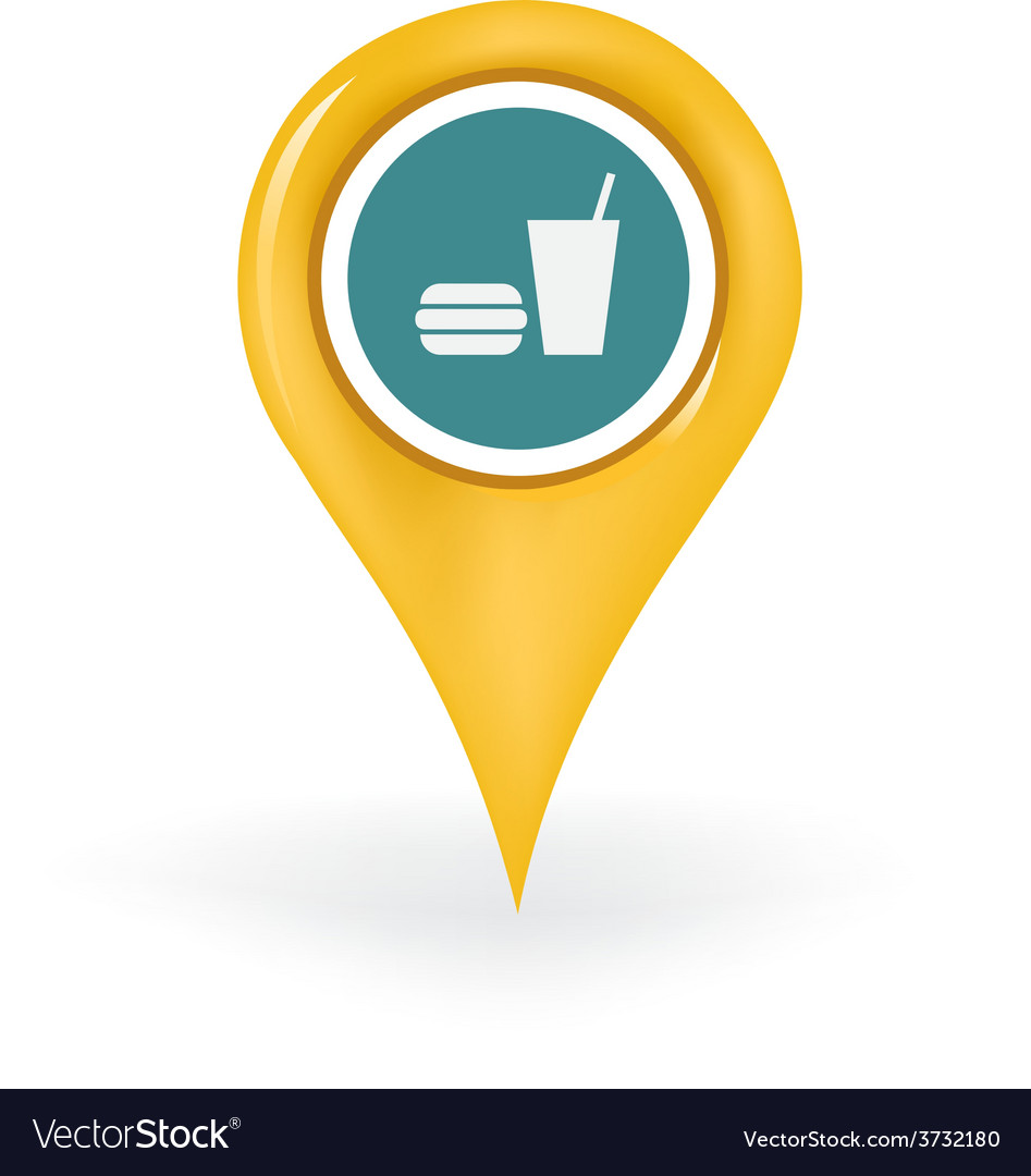 Food court location vector | Price: 1 Credit (USD $1)