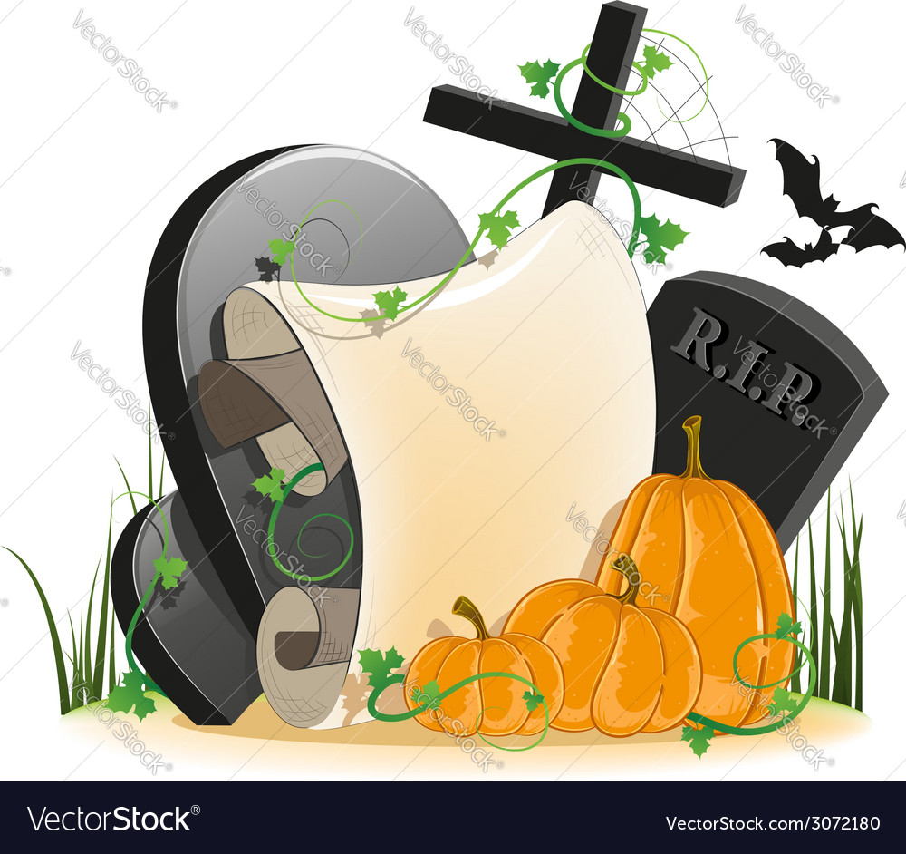 Halloween invitation vector | Price: 3 Credit (USD $3)