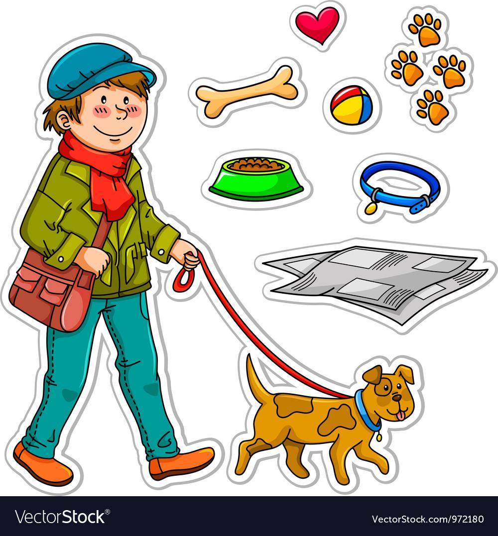 Pet dog vector | Price: 3 Credit (USD $3)