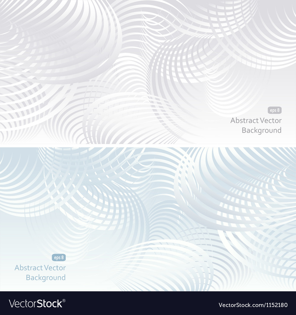 Two light abstract background vector | Price: 1 Credit (USD $1)
