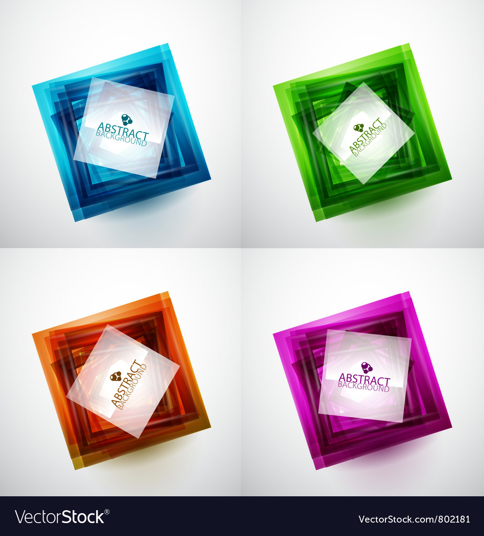 Abstract square vector | Price: 1 Credit (USD $1)
