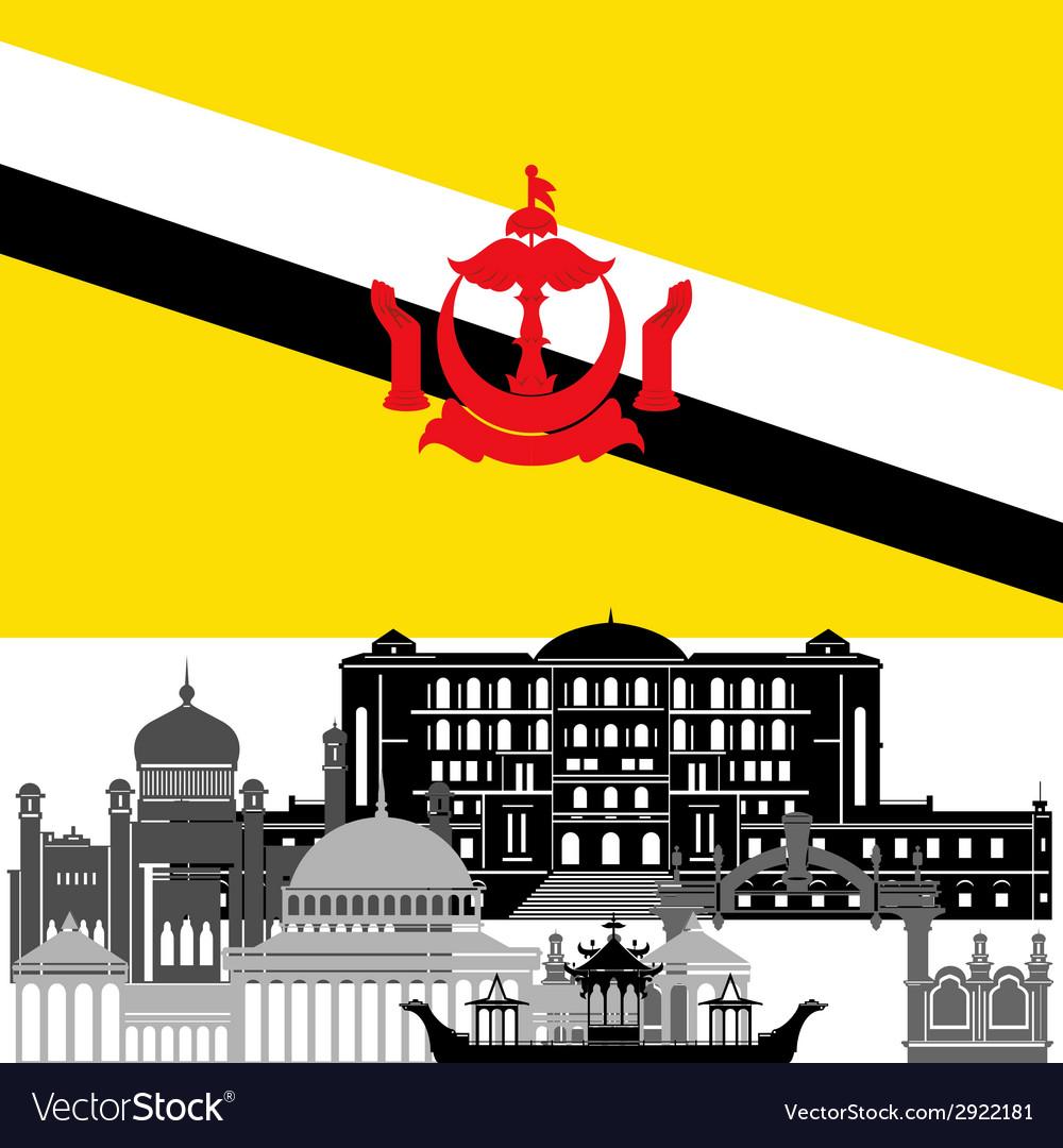 Brunei vector | Price: 1 Credit (USD $1)