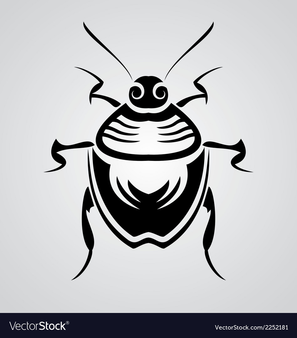 Bugs tribal vector | Price: 1 Credit (USD $1)