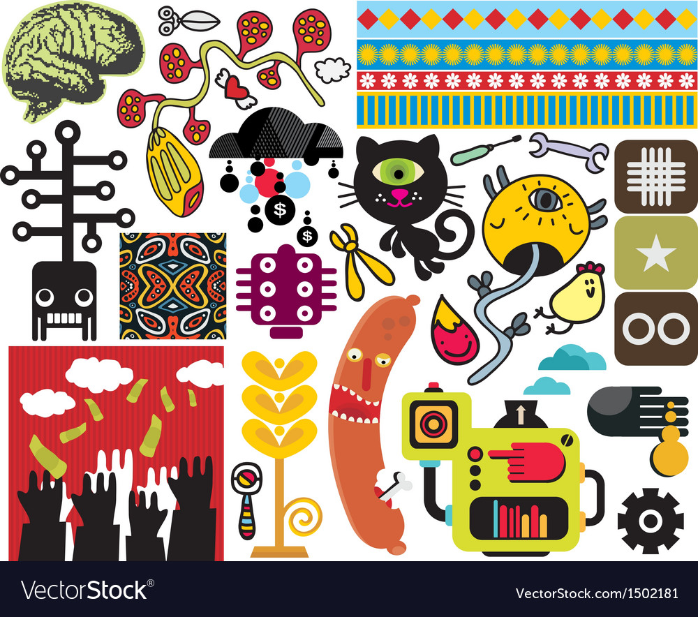 Mix of different images vol50 vector | Price: 3 Credit (USD $3)