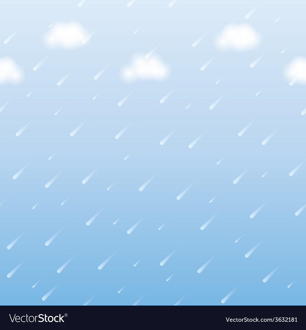 Rainfall vector | Price: 1 Credit (USD $1)