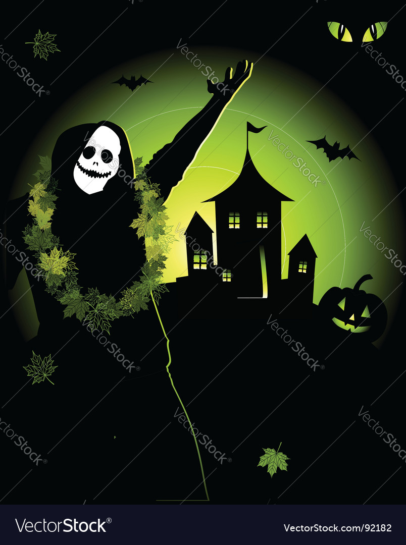 Halloween night holiday vector | Price: 1 Credit (USD $1)