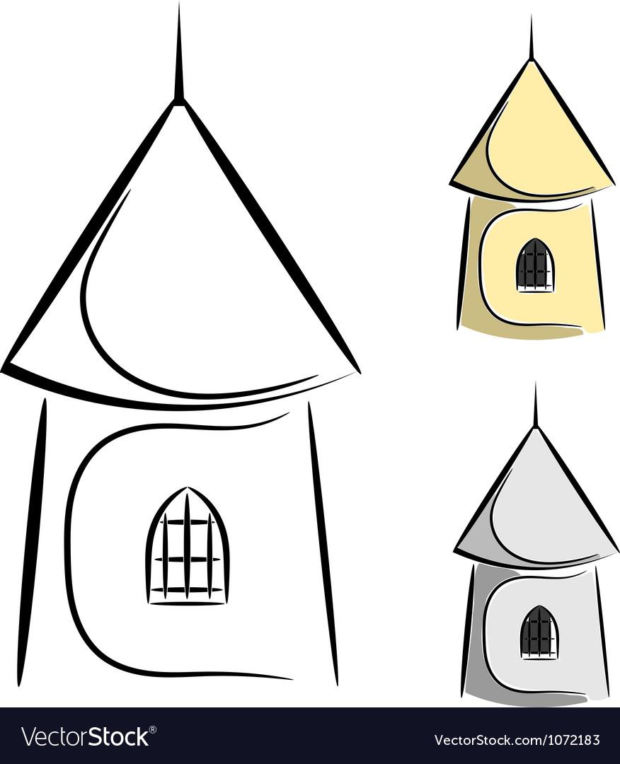 0cartoon castle tower eps10 vector   Price: 1 Credit (USD $1)
