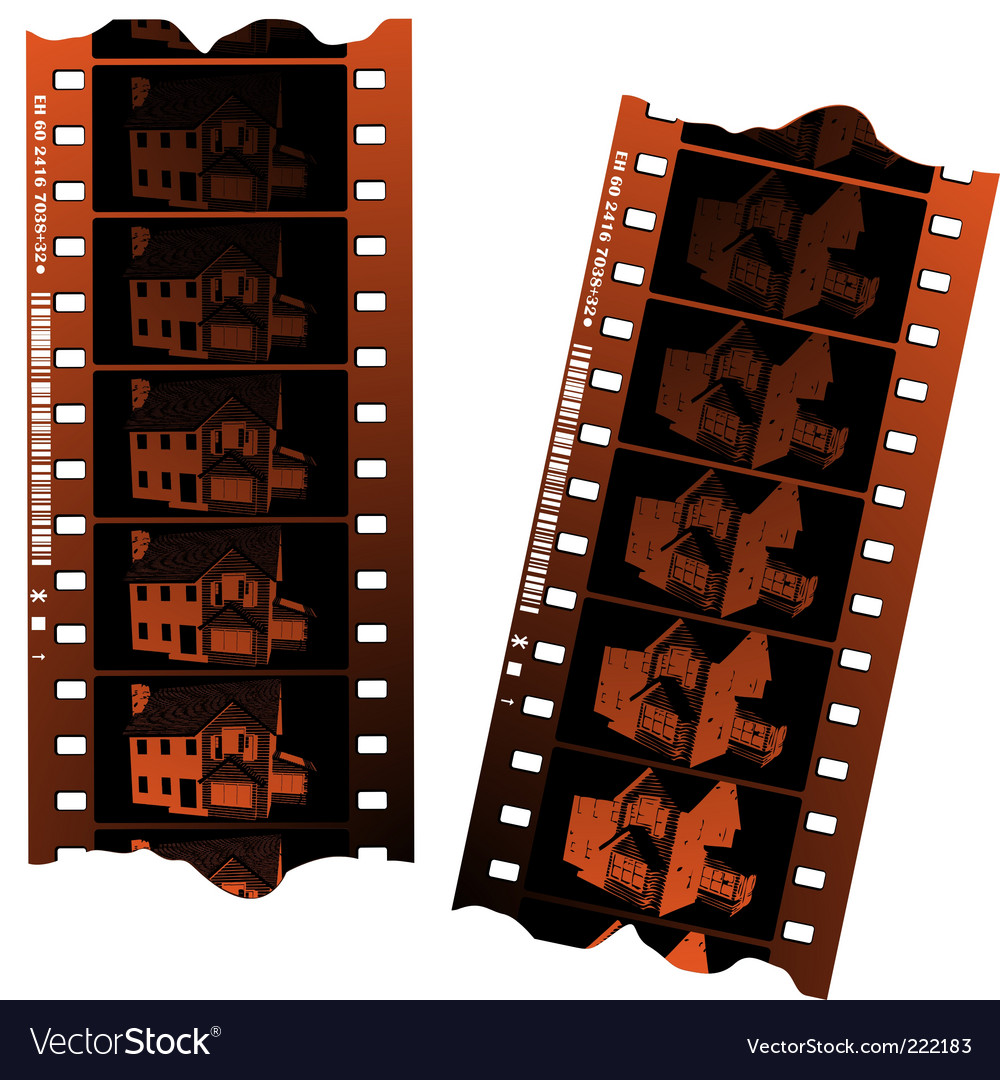 Negative film strips vector | Price: 1 Credit (USD $1)