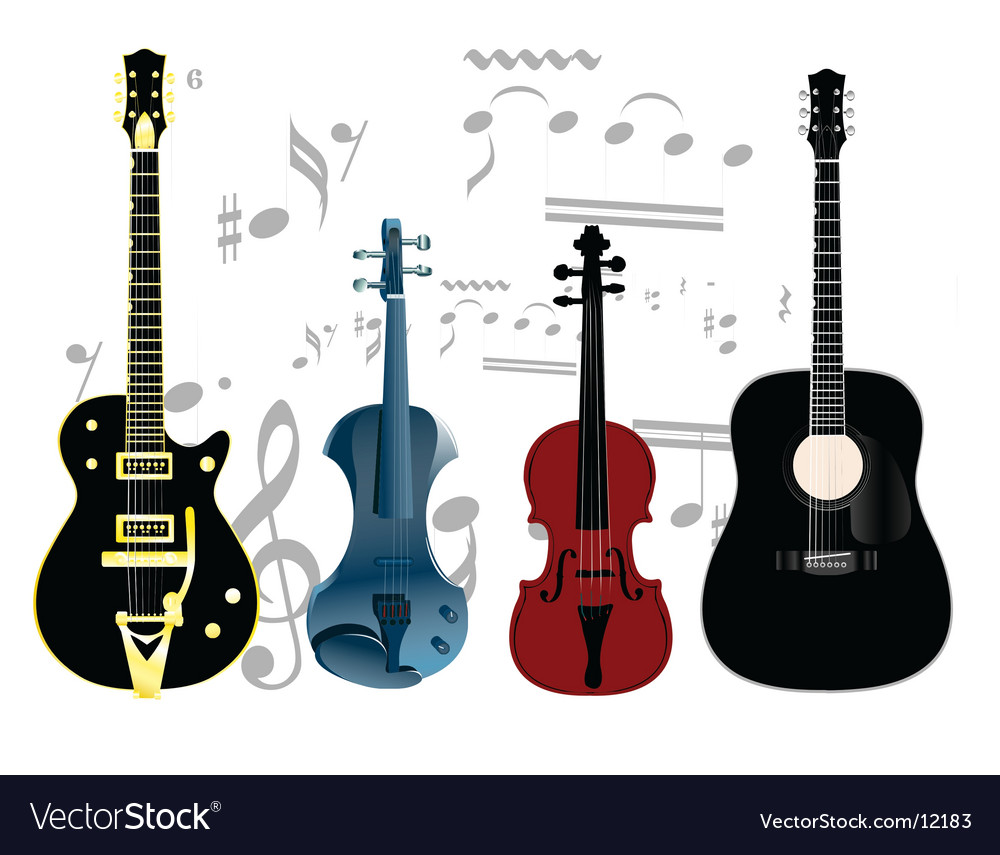 String instruments vector | Price: 3 Credit (USD $3)