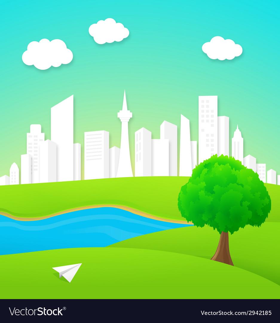 City background vector   Price: 1 Credit (USD $1)