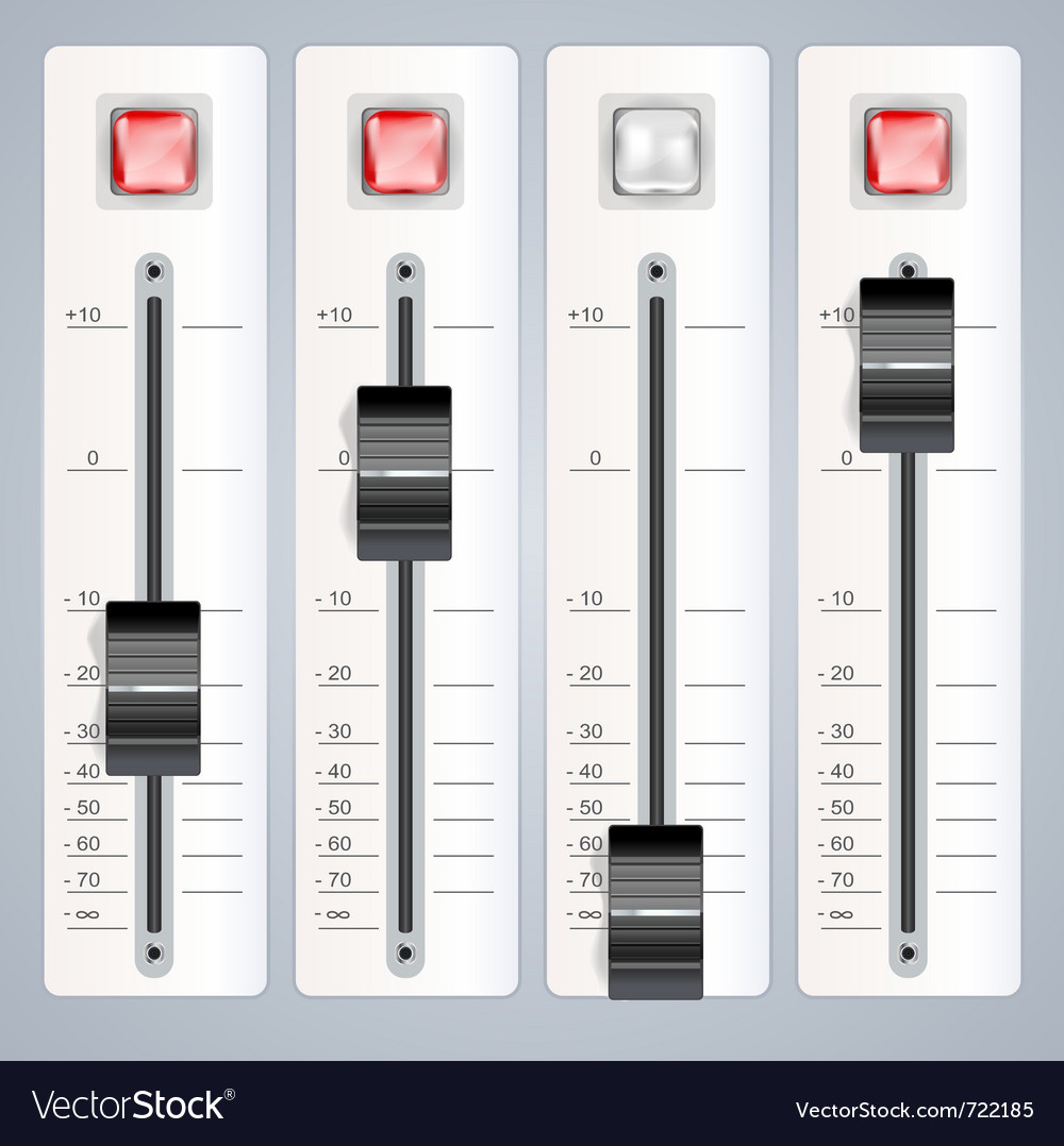 Equalizer recorder vector | Price: 1 Credit (USD $1)