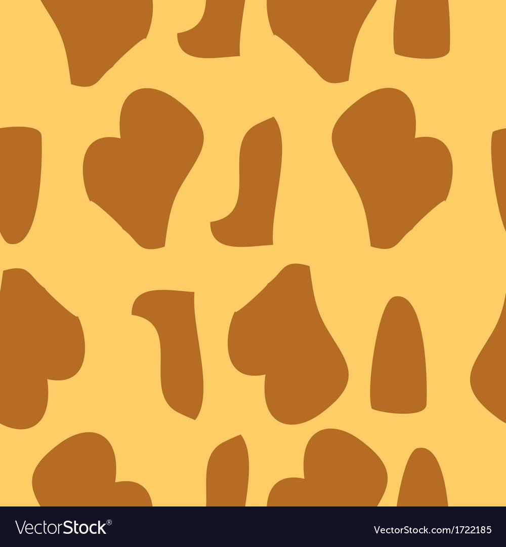 Giraffe fur texture background vector   Price: 1 Credit (USD $1)