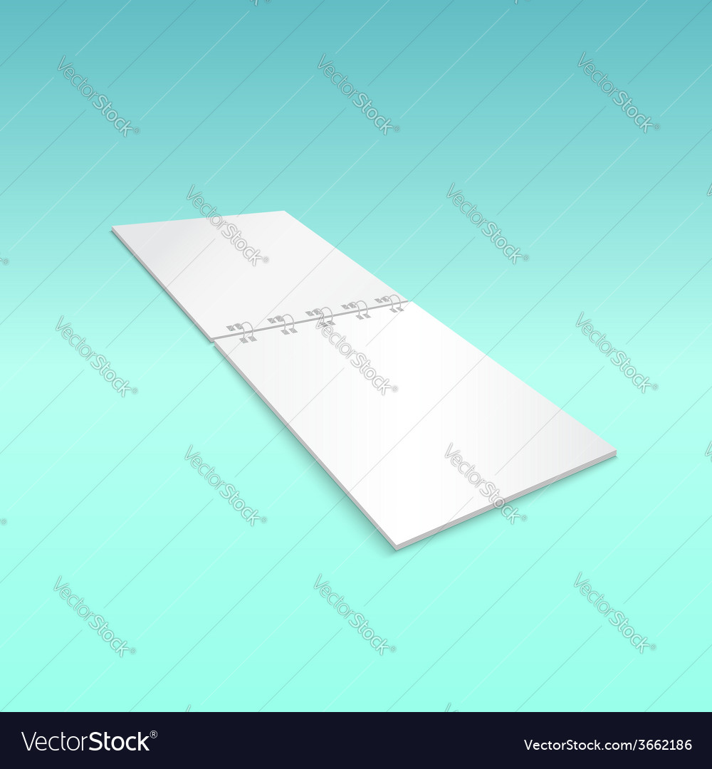Blank spiral notebook lying isolated on blue vector | Price: 1 Credit (USD $1)