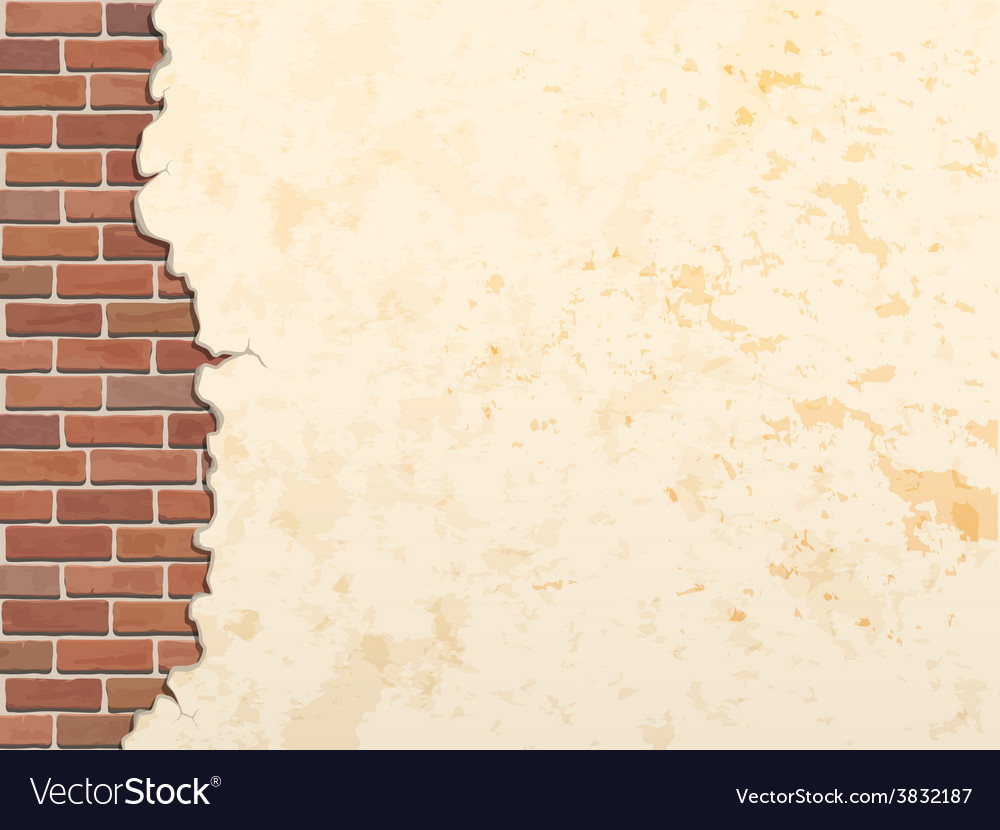 Concrete wall and brick 380 vector | Price: 1 Credit (USD $1)