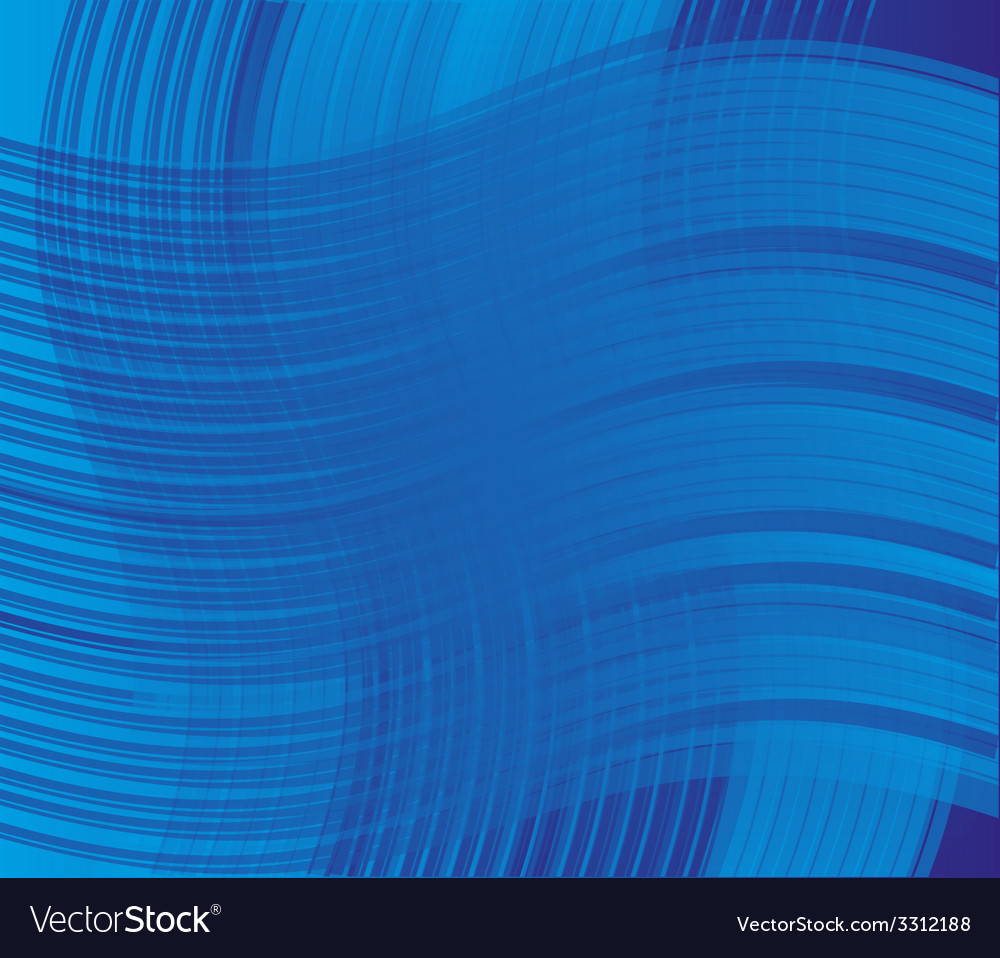 Blue curve line background vector | Price: 1 Credit (USD $1)