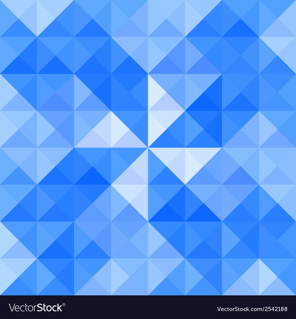 Blue triangle background6 vector | Price: 1 Credit (USD $1)