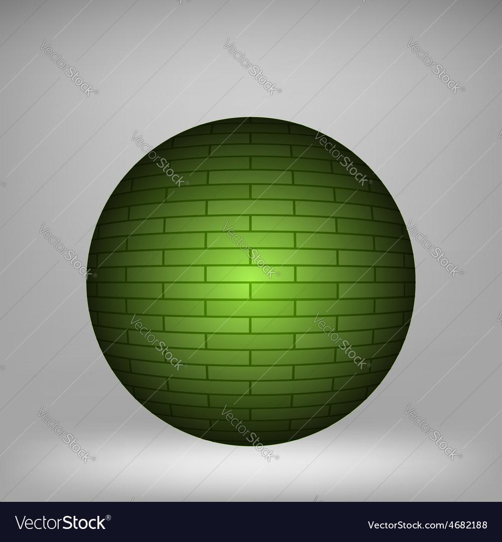 Brick circle vector   Price: 1 Credit (USD $1)