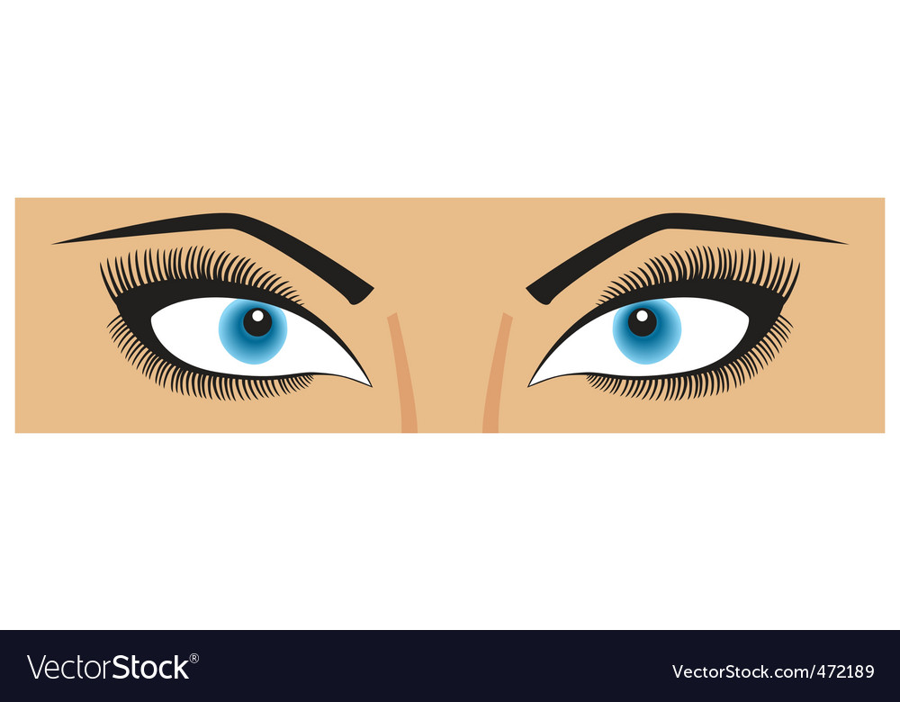 Beauty eyes vector | Price: 1 Credit (USD $1)