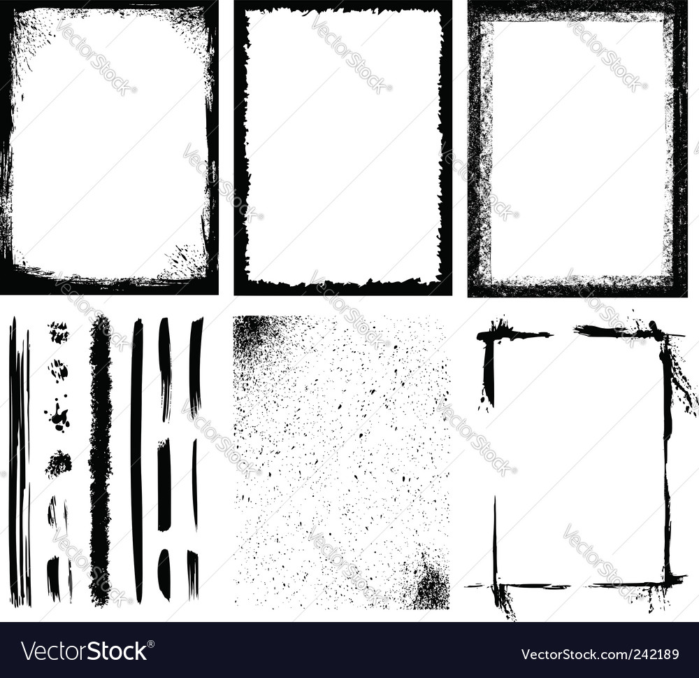 Frames and textures vector | Price: 1 Credit (USD $1)
