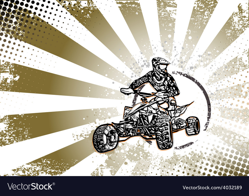 Quad bike vector | Price: 3 Credit (USD $3)