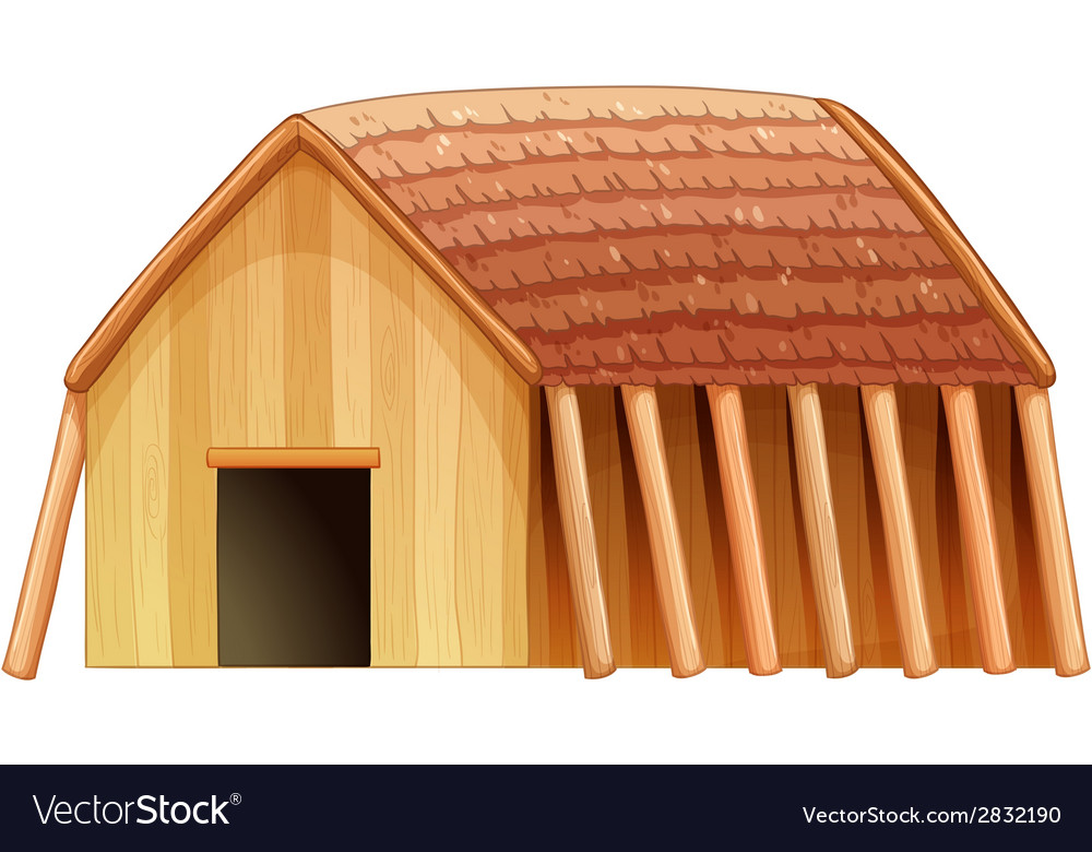 A vikings shelter vector | Price: 1 Credit (USD $1)