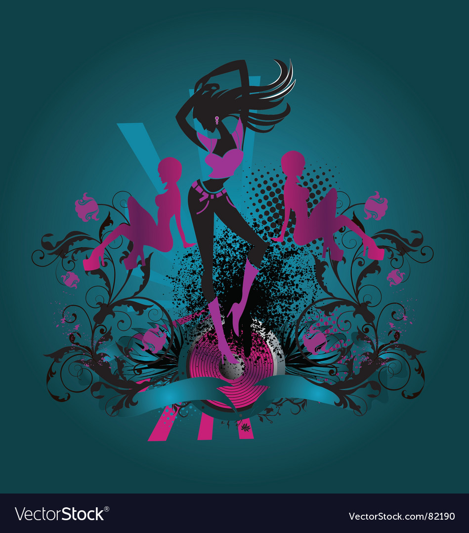 Dance diva vector | Price: 1 Credit (USD $1)