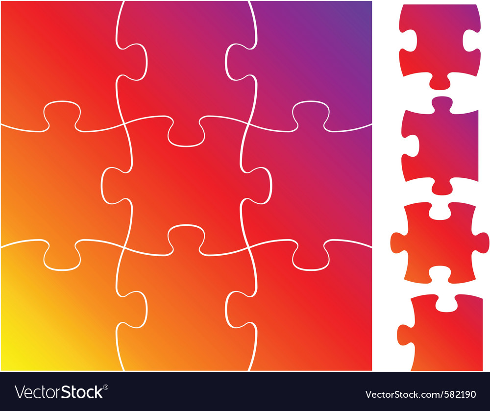 Jigsaw vector | Price: 1 Credit (USD $1)