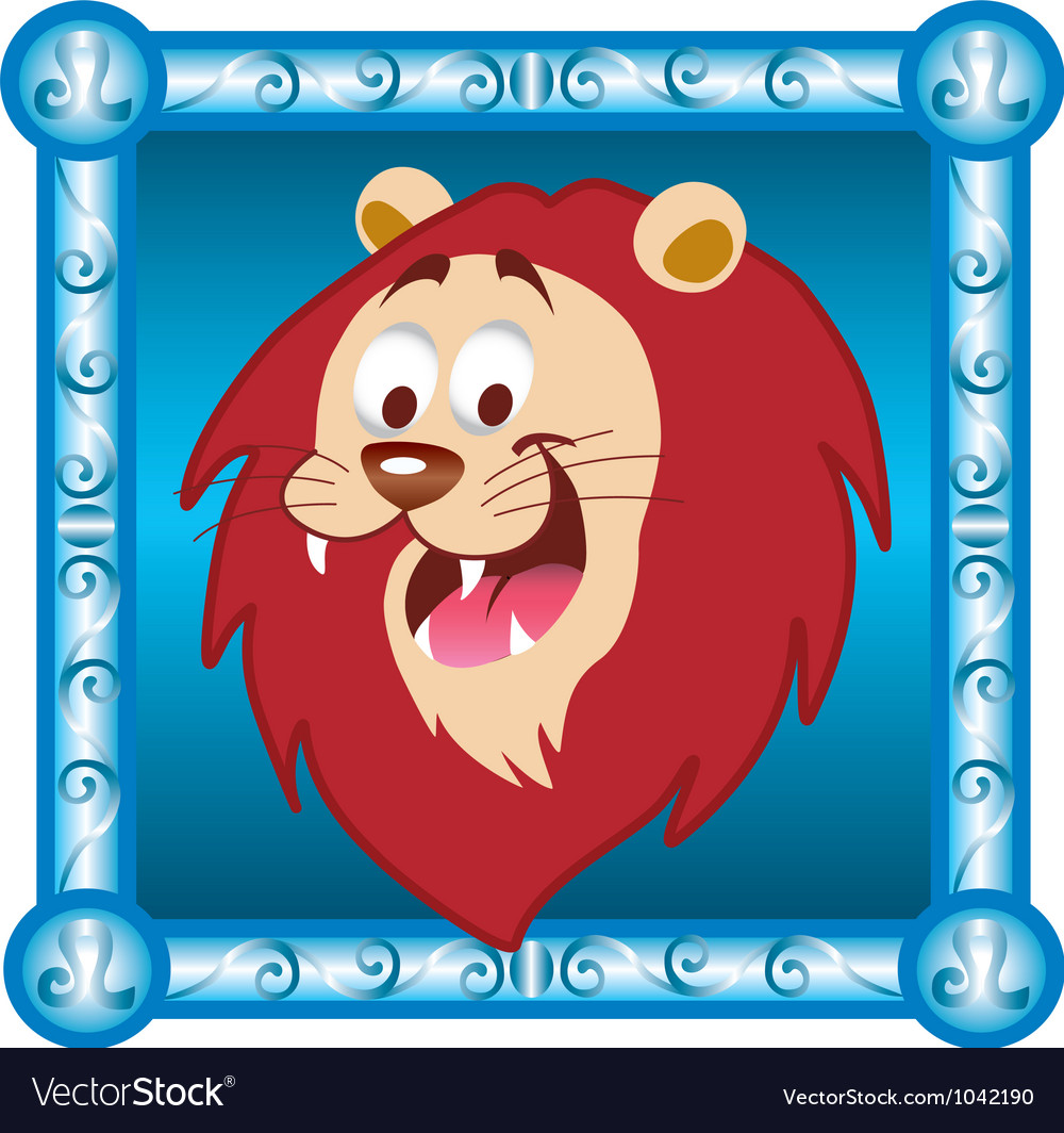 Leo cartoon vector | Price: 1 Credit (USD $1)