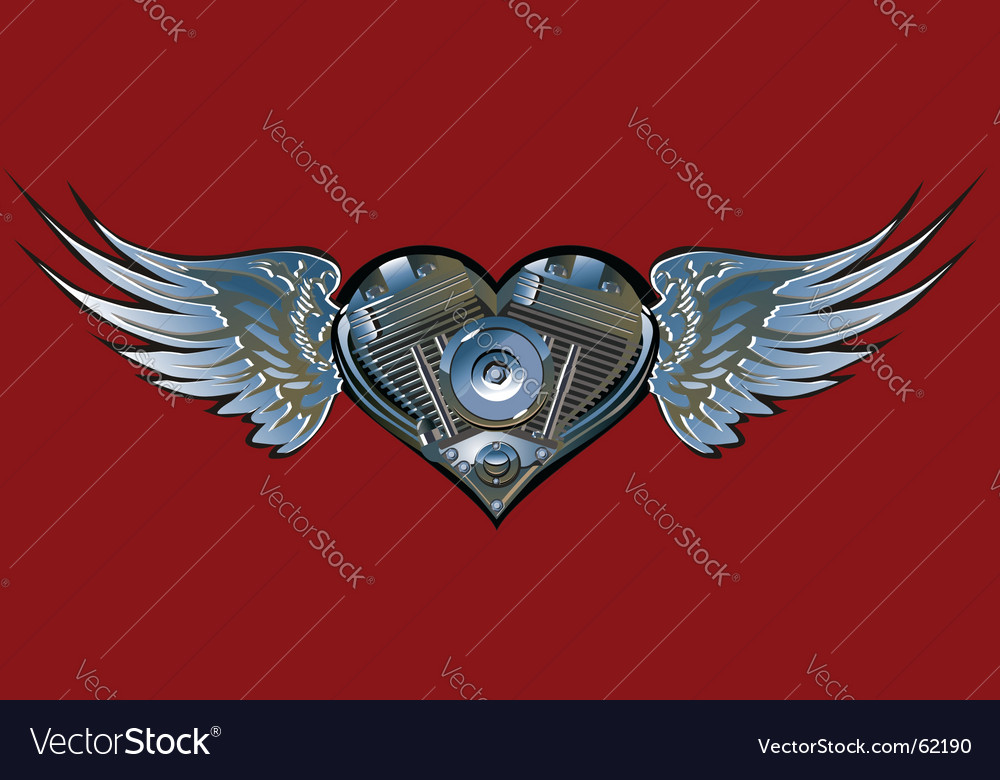 Motorheart vector | Price: 1 Credit (USD $1)