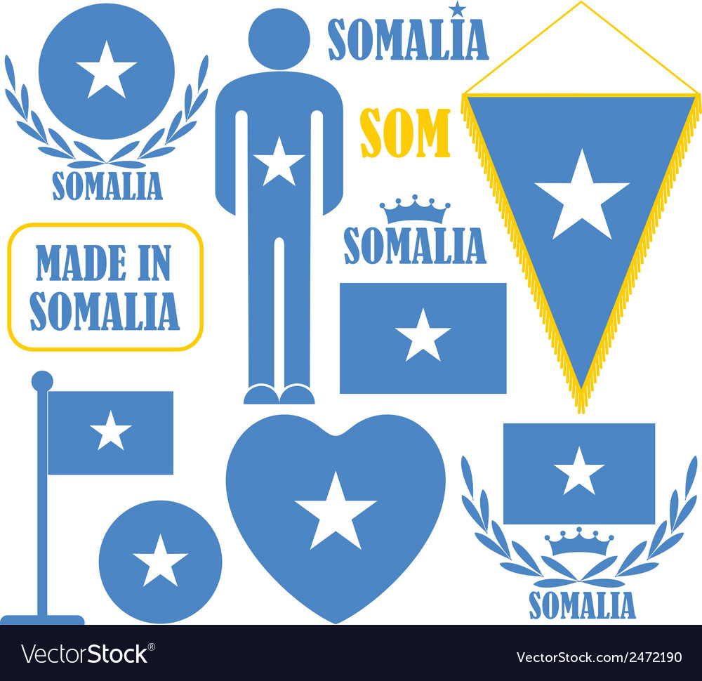 Somalia vector | Price: 1 Credit (USD $1)