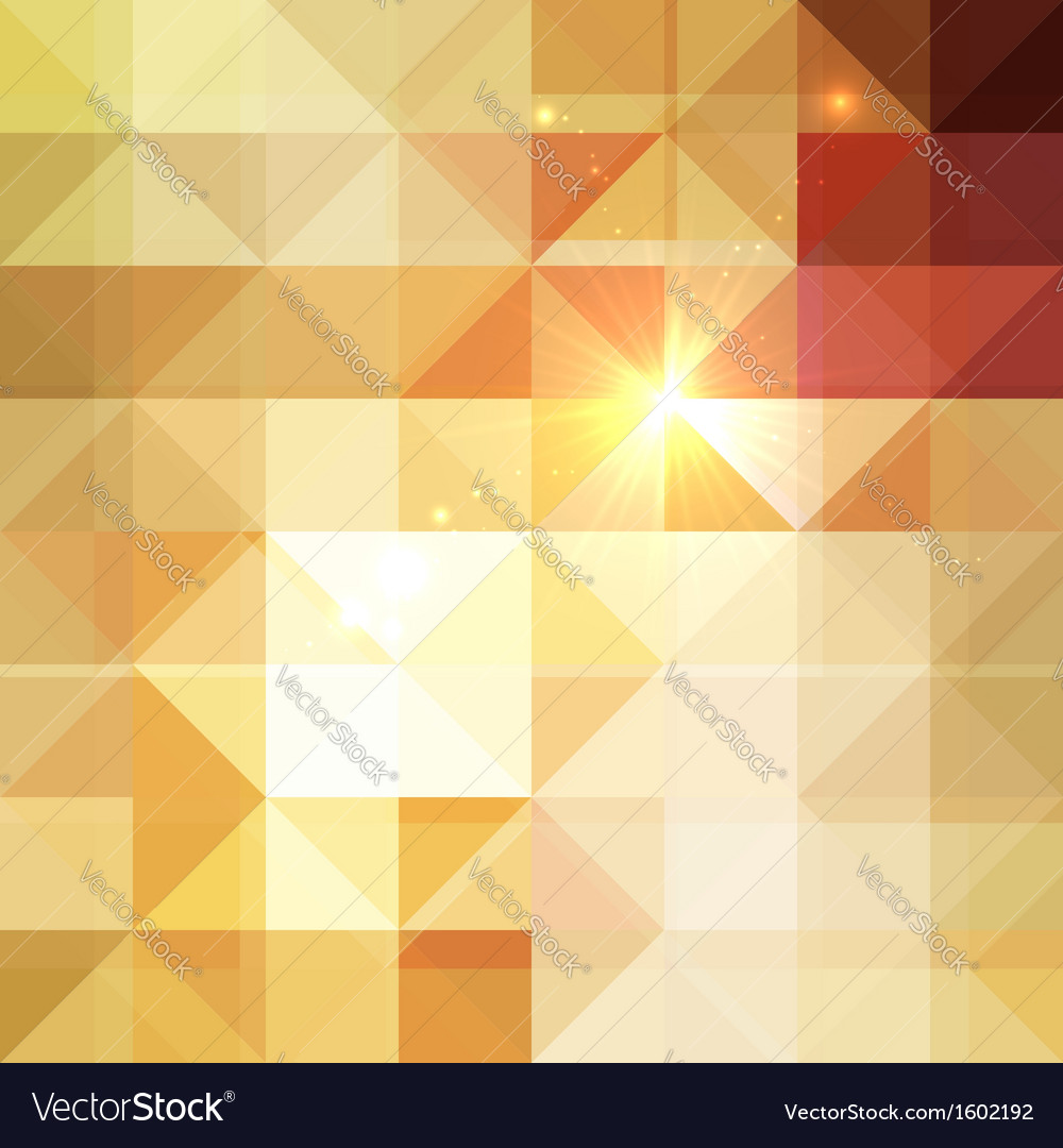 Abstract triangles shining background vector | Price: 1 Credit (USD $1)