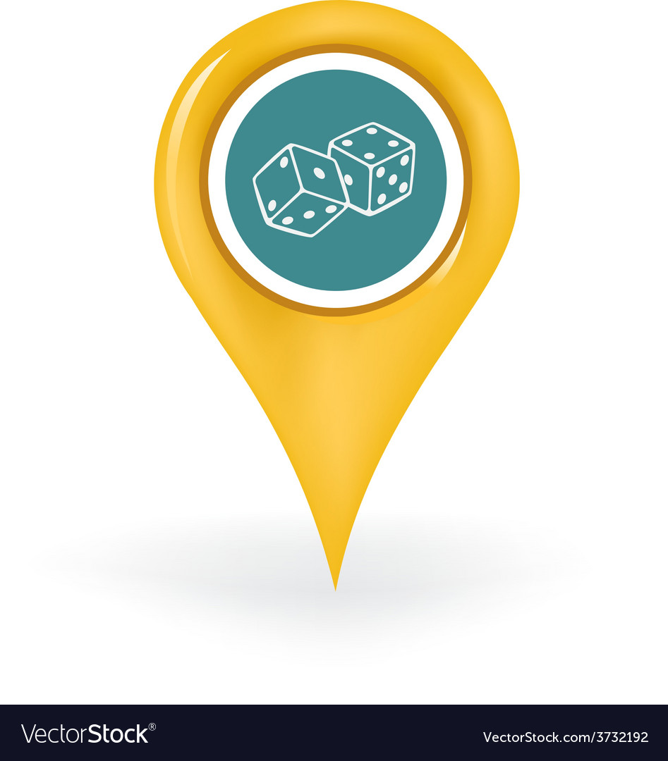 Gambling location vector | Price: 1 Credit (USD $1)
