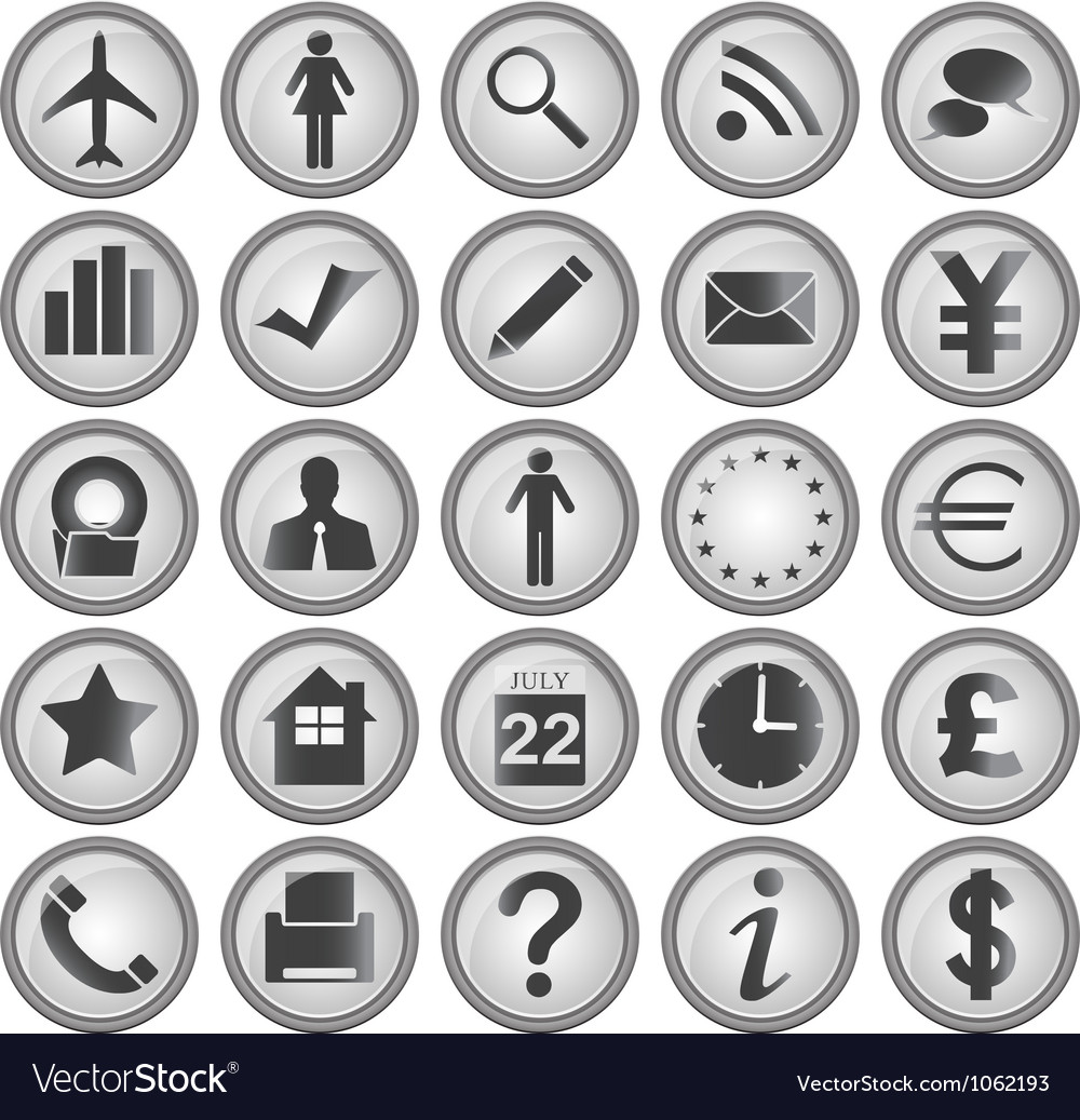 25 business icons vector | Price: 1 Credit (USD $1)