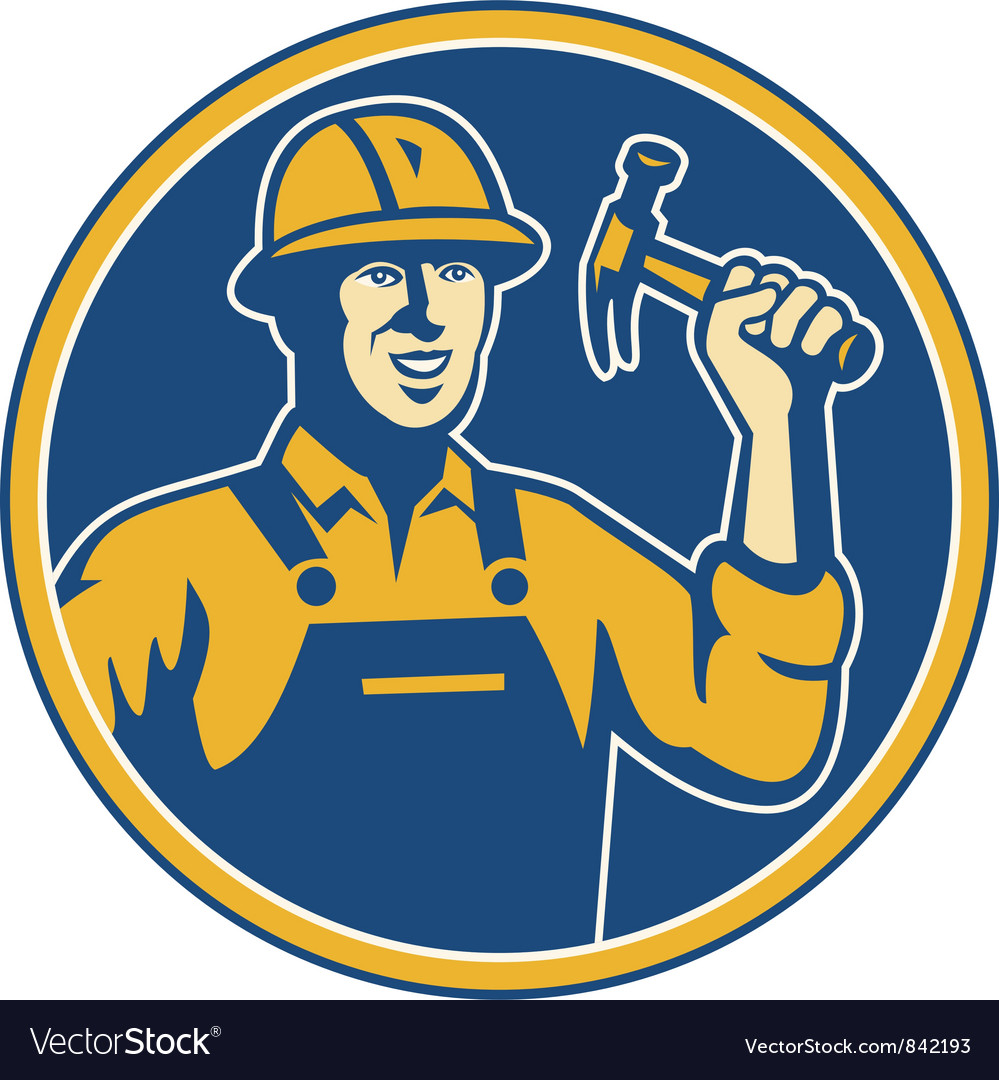 Construction worker vector | Price: 1 Credit (USD $1)