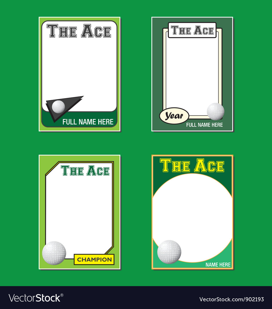 Golf cards vector | Price: 1 Credit (USD $1)