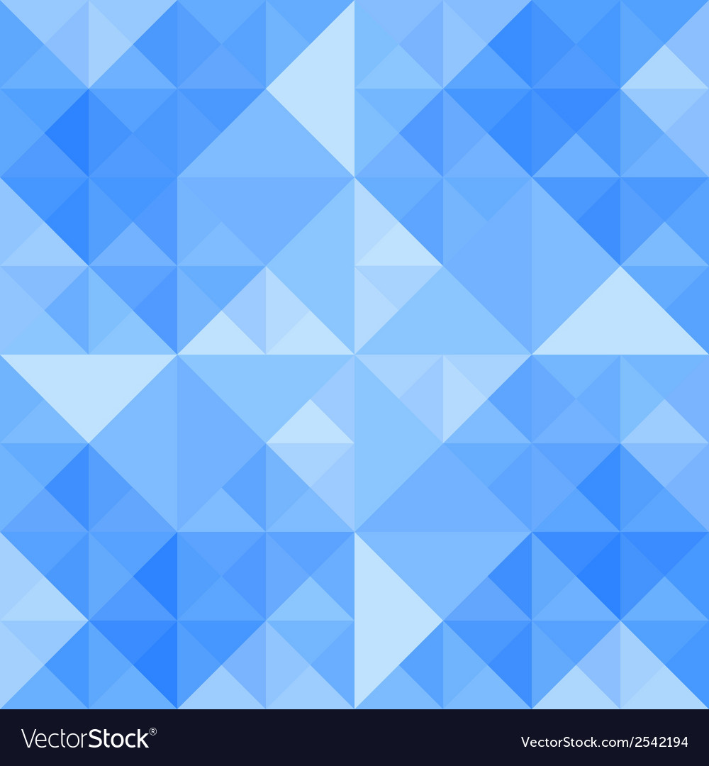 Blue triangle background7 vector | Price: 1 Credit (USD $1)