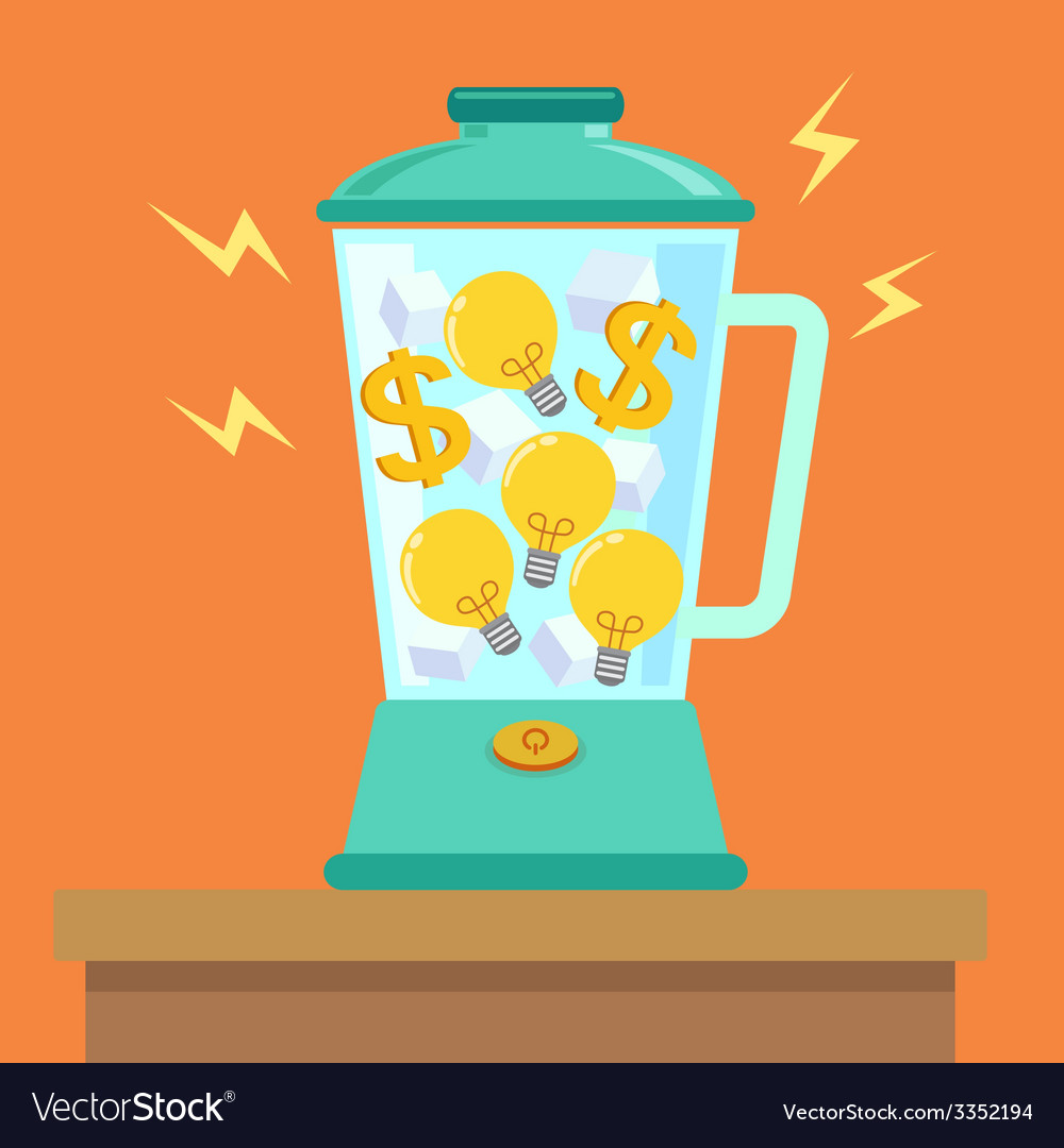 Idea money mix vector | Price: 1 Credit (USD $1)