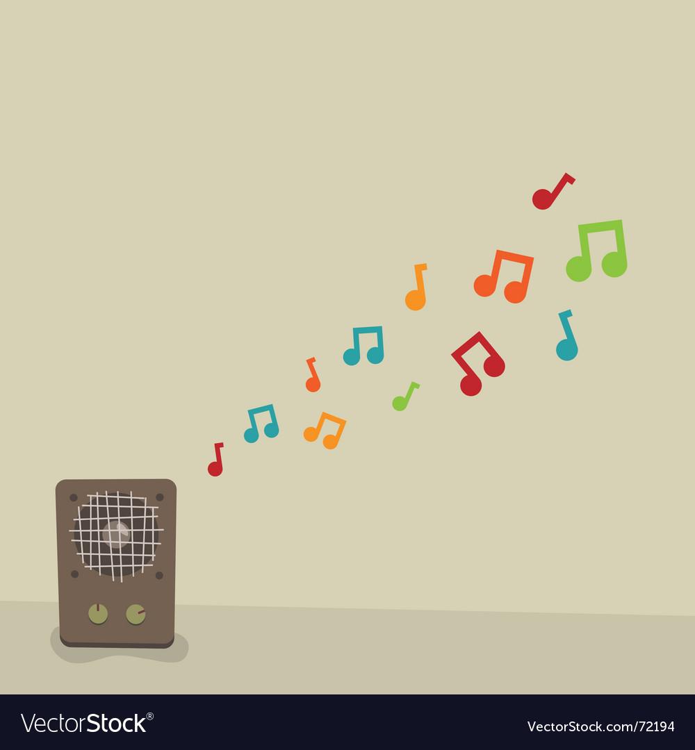 Singing speaker vector   Price: 1 Credit (USD $1)