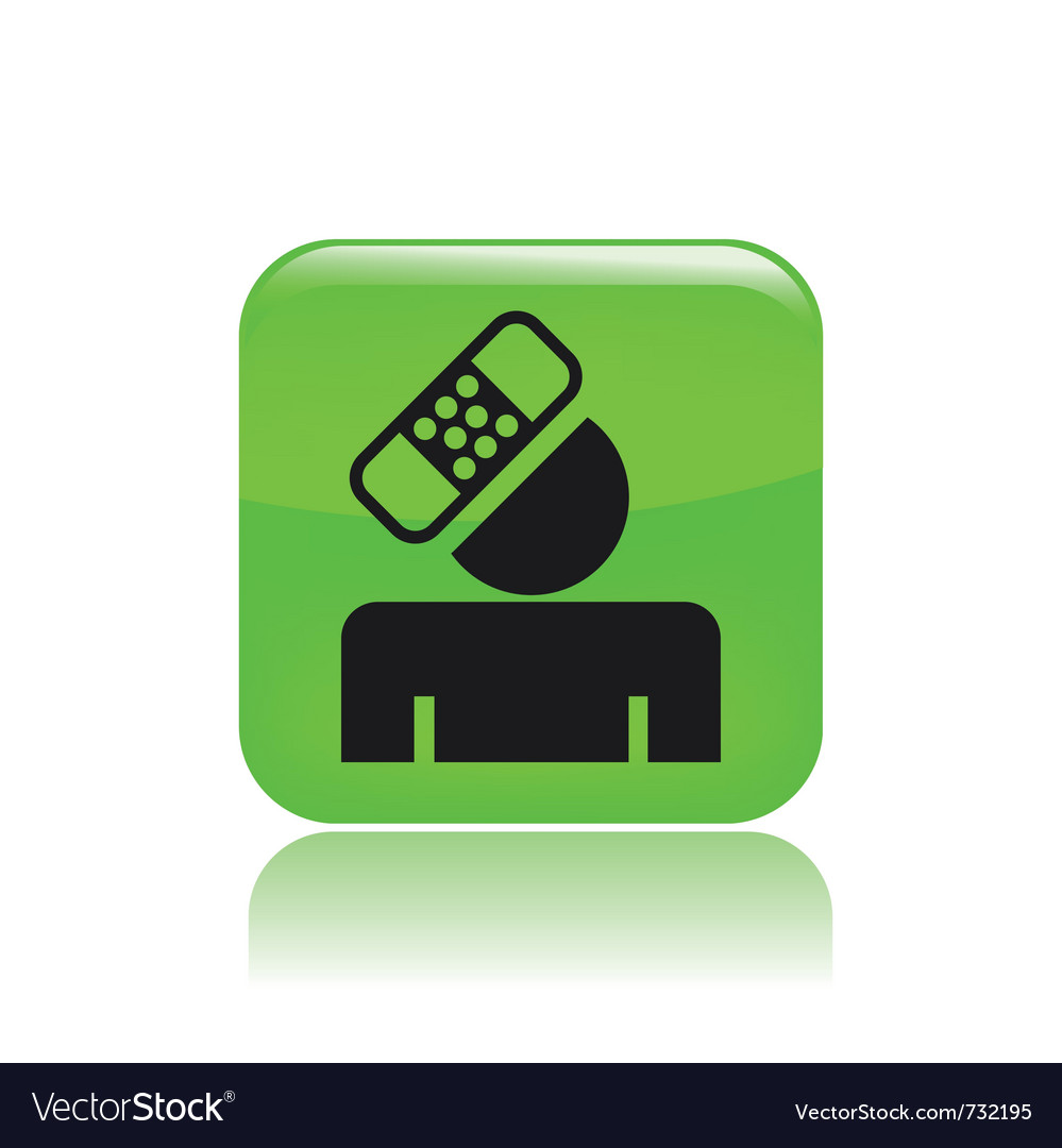 Accident icon vector | Price: 1 Credit (USD $1)