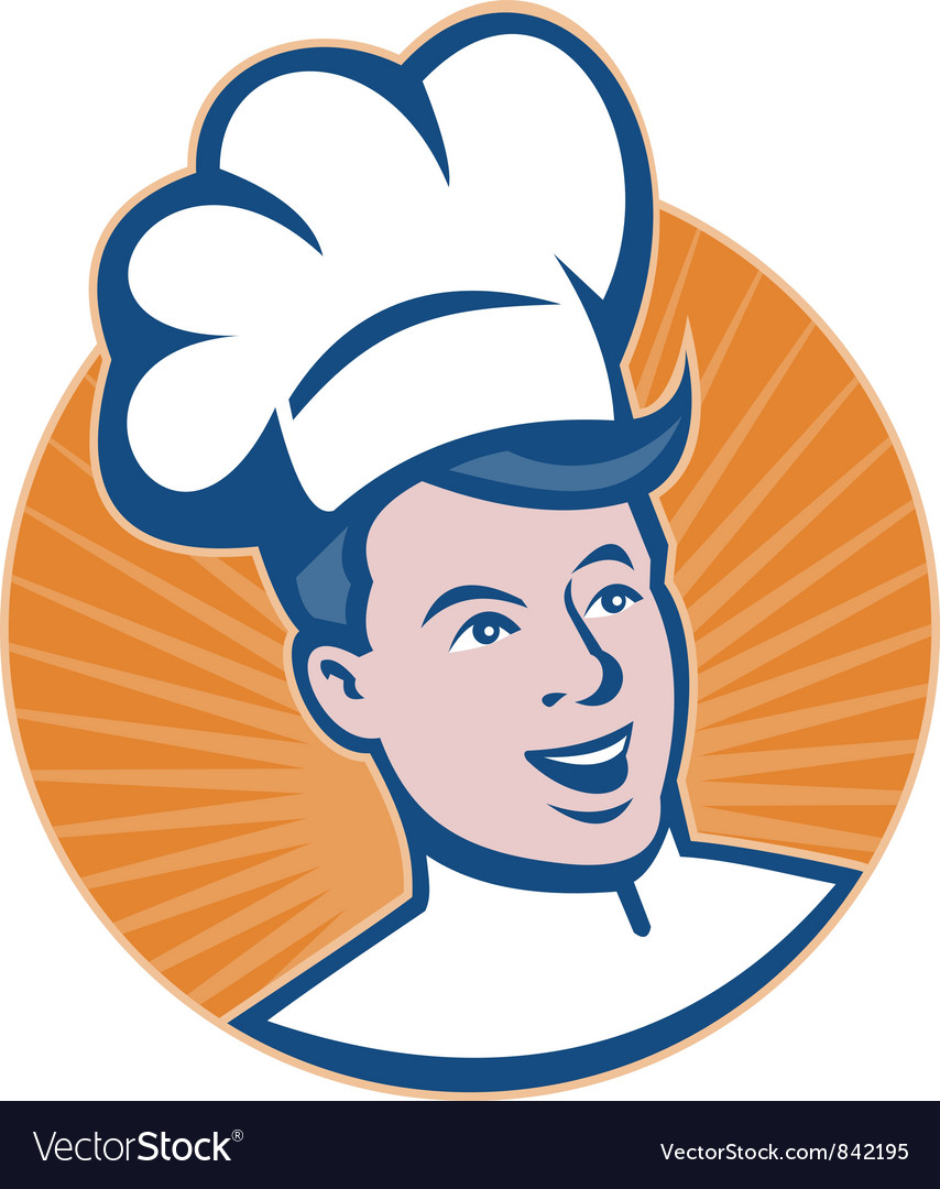 Chef cook baker vector | Price: 1 Credit (USD $1)
