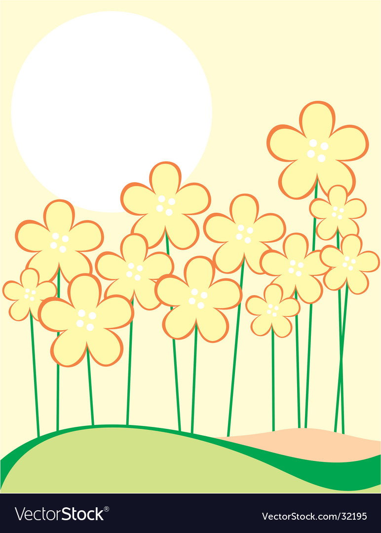 Flora vector | Price: 1 Credit (USD $1)