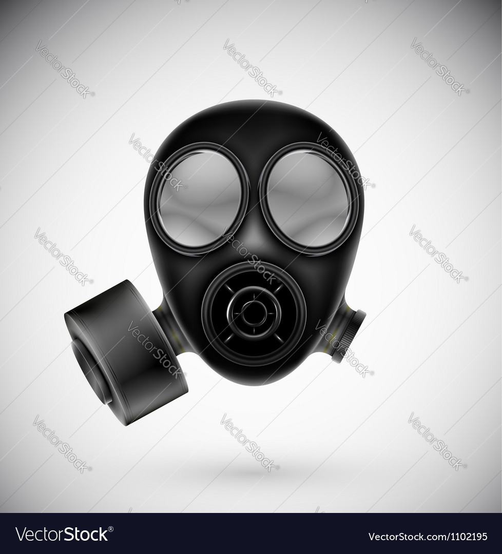 Isolated gas mask vector | Price: 1 Credit (USD $1)