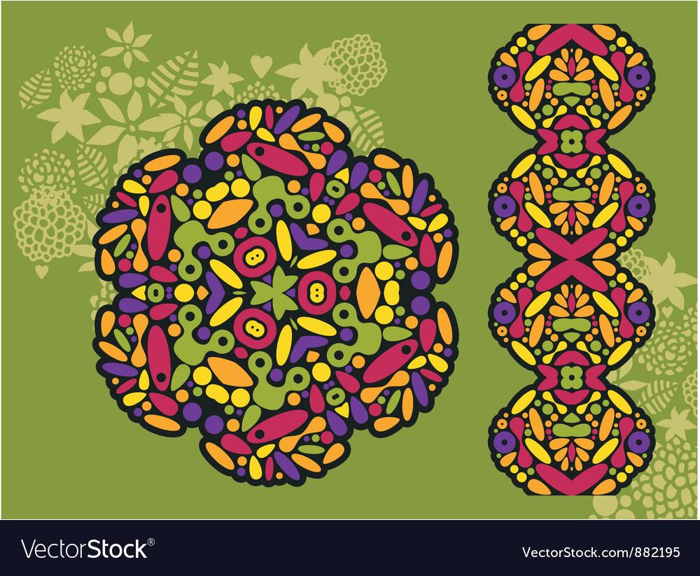 Kaleidoscope background vector   Price: 1 Credit (USD $1)
