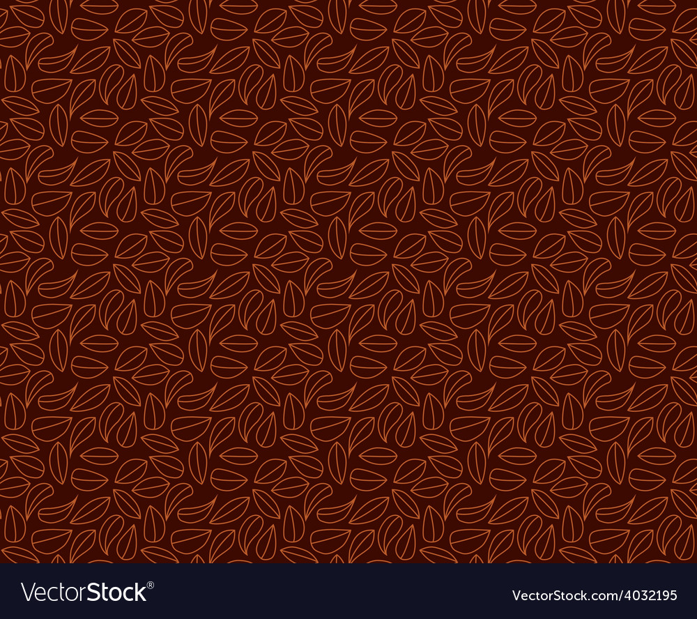 Leaves seamles pattern background vector | Price: 1 Credit (USD $1)