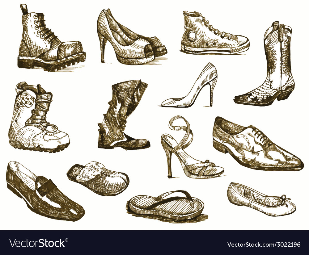 Shoes of dreams vector | Price: 1 Credit (USD $1)