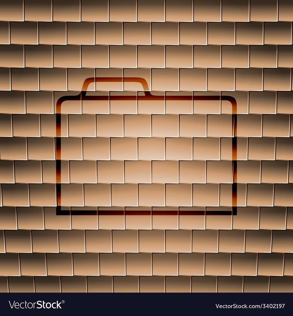 Document folder icon symbol flat modern web design vector | Price: 1 Credit (USD $1)