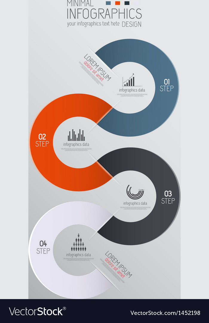 Infographics template 2 vector | Price: 1 Credit (USD $1)